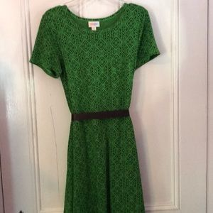 Lularoe green dress
